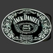 Buckle Jack Daniels rond
