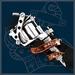 UL13 Alchemy Tattoo Gun buckle met riem