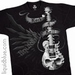 T-shirt Skelecaster Liquid Blue